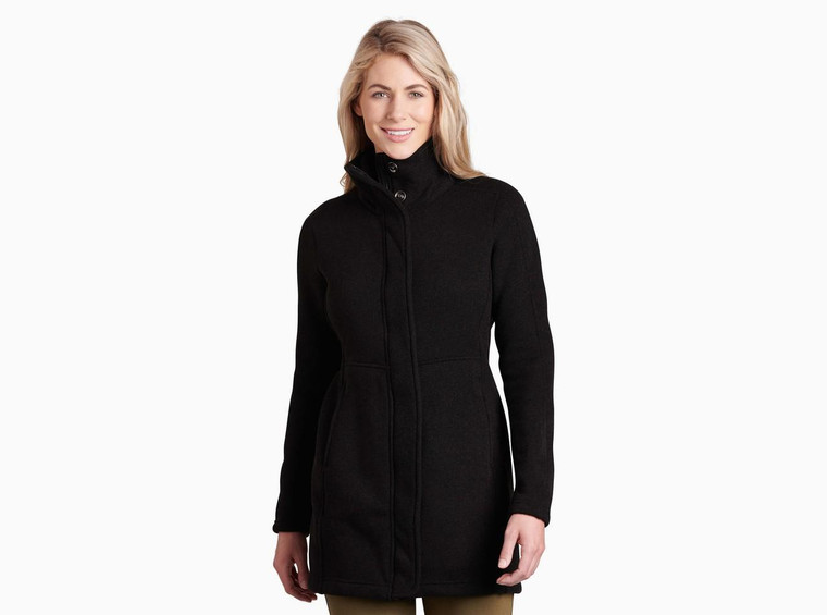 Kuhl Highland Long Jacket Black