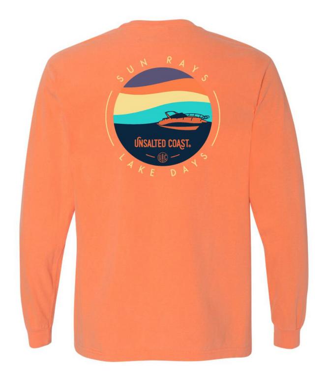 Unsalted Coast Sun Rays L/S Peach