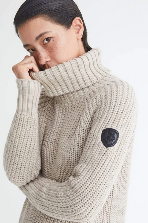 Alp N Rock Simone Sweater Heather Oatmeal