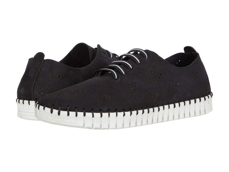 Eric Michael Annie Black Sneaker