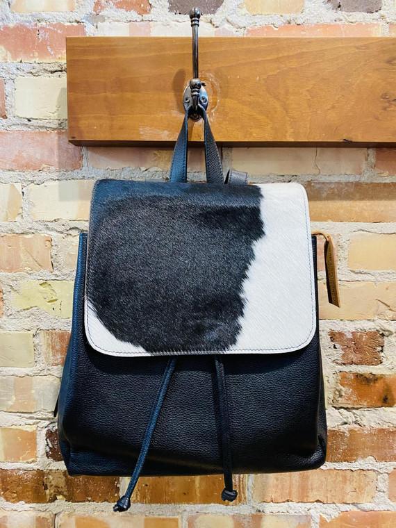 Gabi Capobianco Black and White Backpack