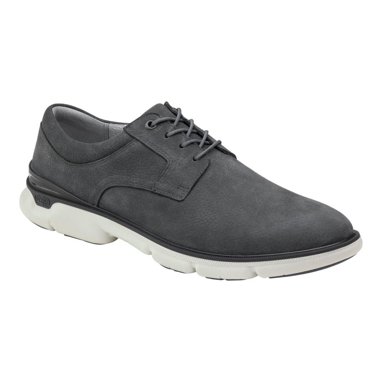 Johnston & Murphy XC4 Tanner Plain Toe Navy Nubuck