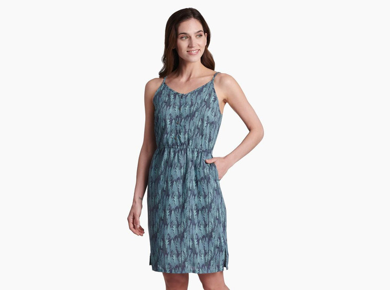Kuhl Lucie Dress Metal Blue
