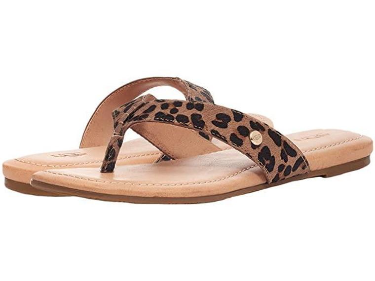 UGG Tuolumne Sandal Tan Leopard