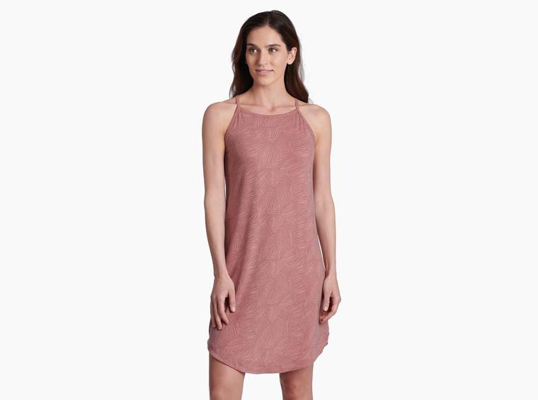 Kuhl Kira Dress Rosewood Print