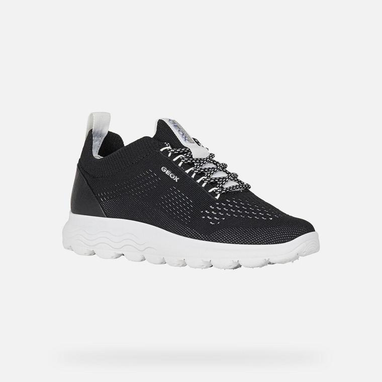Geox Spherica Sneaker Black
