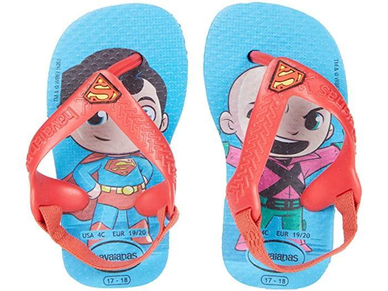 Havaianas Baby Heroes Turquoise/Red