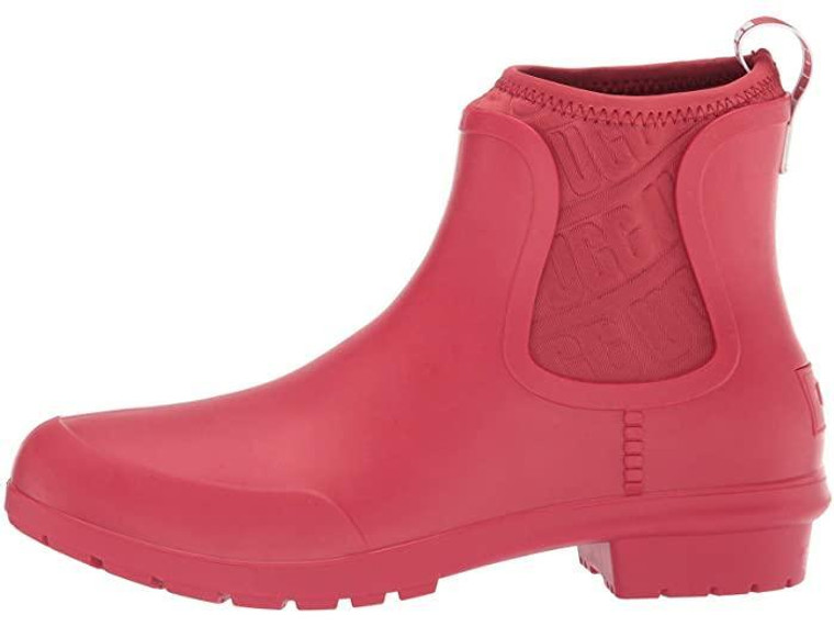 UGG Chevonne Rainboot Ribbon Red