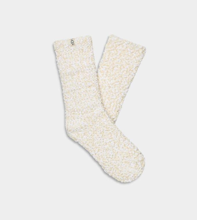 UGG Adah Cozy Chenille Sparkle Sock Cream