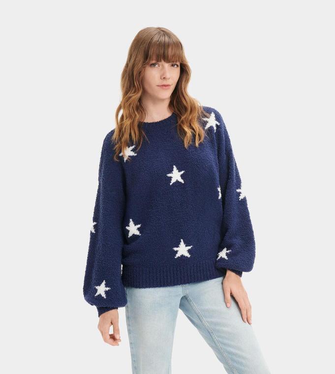 UGG Paden Pullover Navy Stars