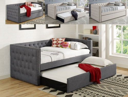 Trina Daybed- Grey Finish