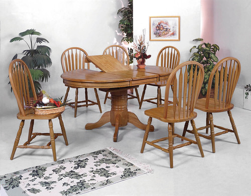 Windsor Chair- Assembled, Dark Oak Finish