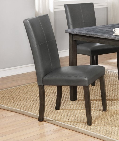 Pompei Side Chair- Grey Finish
