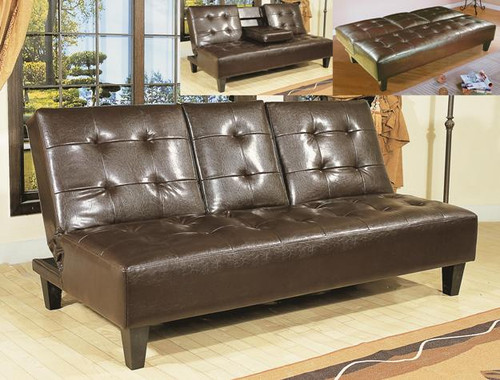 Bennett Adjustable Sofa- Espresso