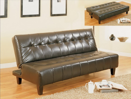 Marco Adjustable Sofa- Espresso Finish