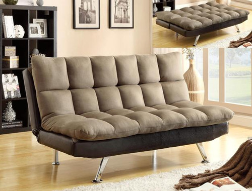 Sundown Adjustable Sofa- Espresso Finish