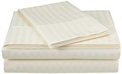 Egyptian Cotton King Pillow Cases - 420 Thread Count - Color: Champagne