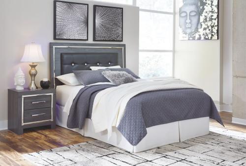 Lodanna Gray Queen/Full Upholstered Panel Headboard
