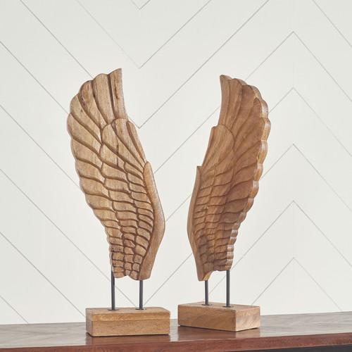 BRANDEN Natural Sculpture Set (2/CN)