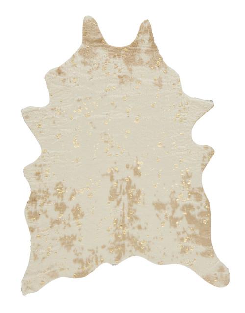 Jaxith Ivory/Brown Medium Rug