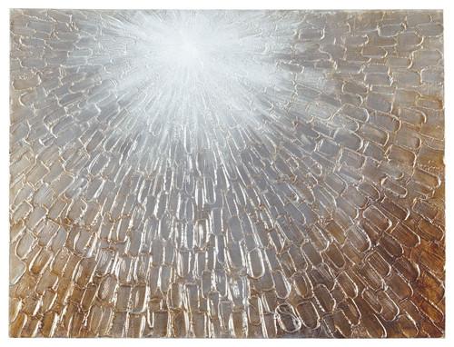 Elaina Gray/White/Brown Wall Art