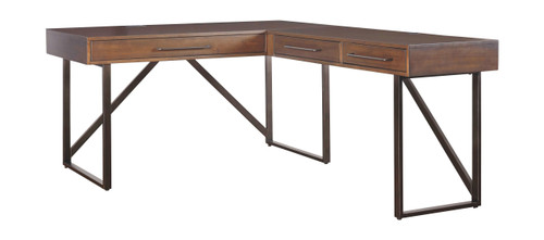 Starmore Brown Home Office L Shaped Desk