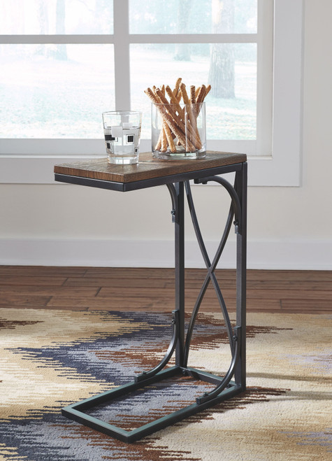 Golander Medium Brown Chair Side End Table