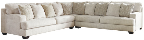 Rawcliffe Parchment LAF Sofa, Wedge & RAF Sofa Sectional