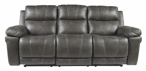 Erlangen Midnight Power Reclining Sofa with ADJ Headrest