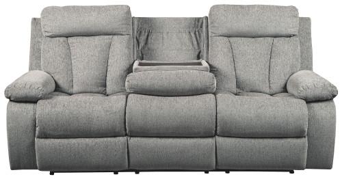 Mitchiner Fog Reclining Sofa w/Drop Down Table