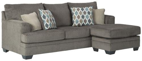 Dorsten Slate Sofa Chaise