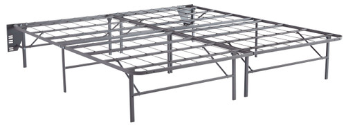 Better Than A Boxspring Gray King Foundation