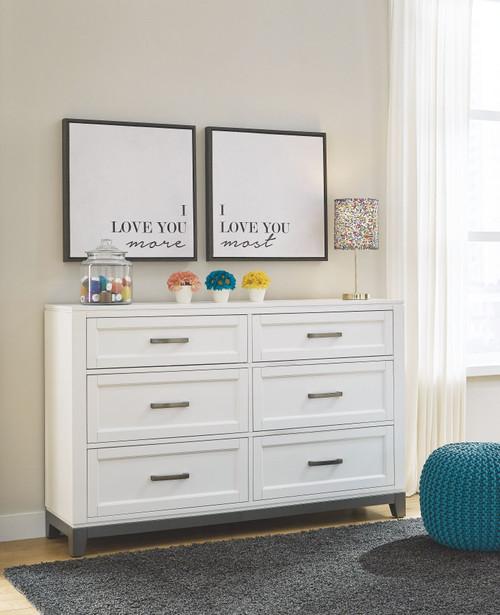 Brynburg White Dresser