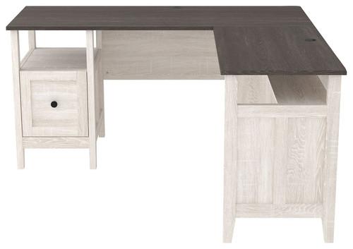 Dorrinson Two-tone 2-Piece Home Office Desk