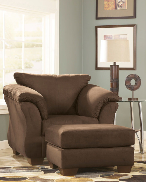 Darcy Cafe Chair with Ottoman