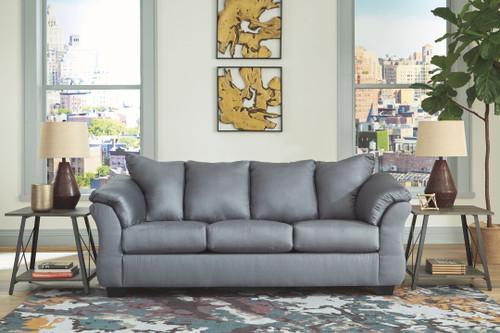 Darcy Steel Full Sofa Sleeper
