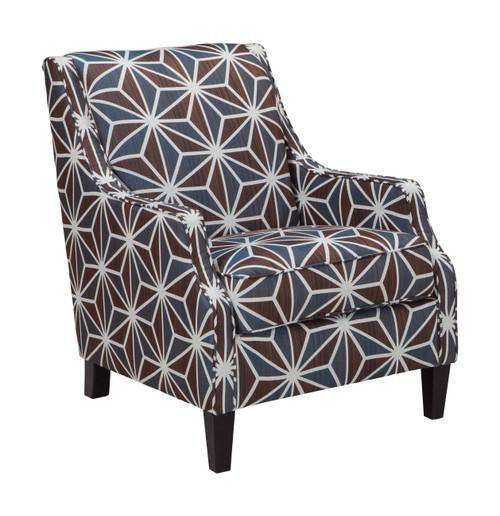 Brise Chestnut Accent Chair