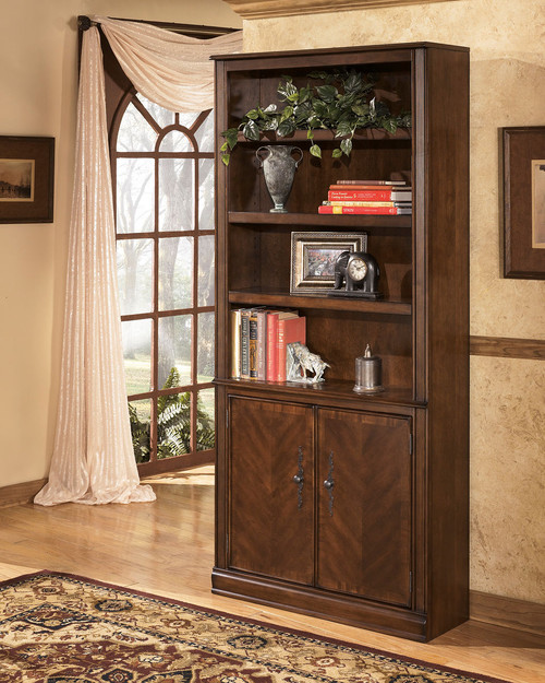 Hamlyn Medium Brown Large Door Bookcase