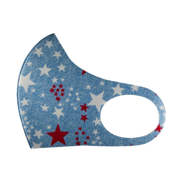 Stars Light Blue - Copper Mask