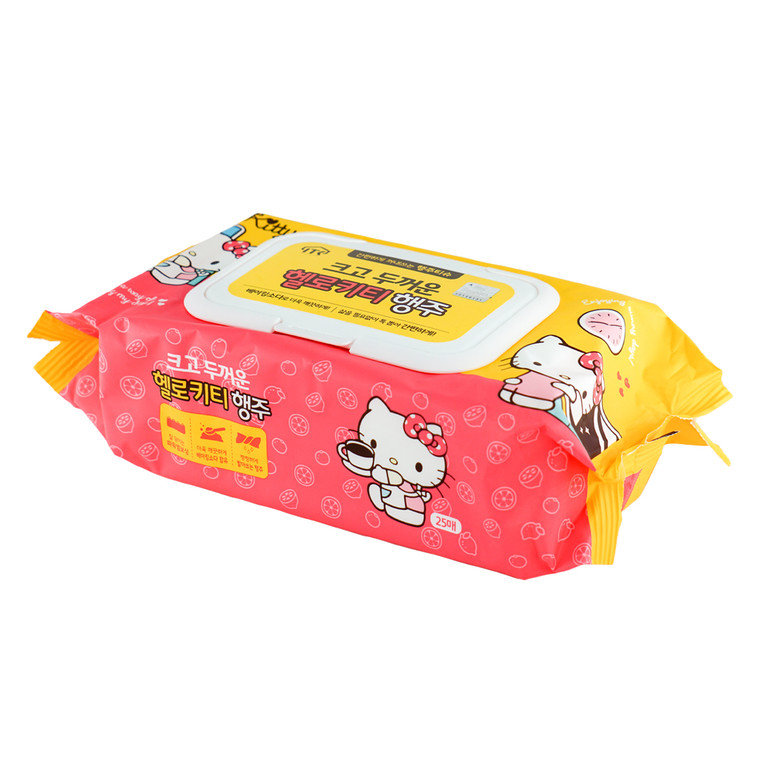 Hello Kitty Wet Cleaning Towel 25ct