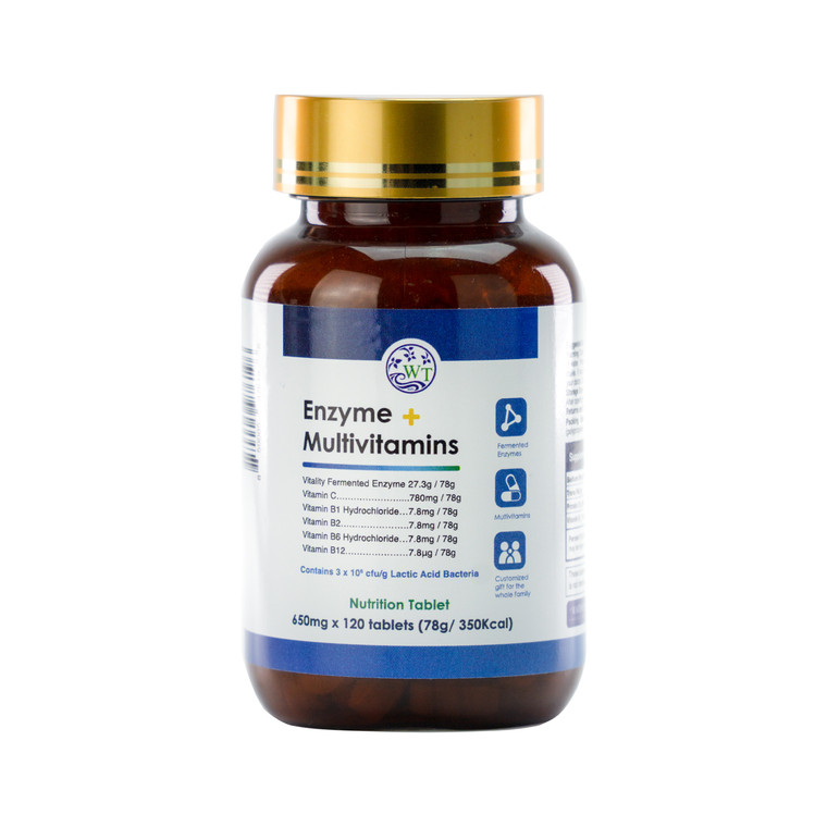 Enzyme + Multivitamins (1 Bottle)