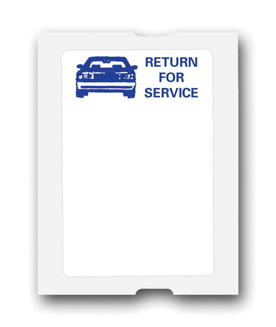 """""""Return for Service"""" Generic Roll Labels, 2 1/4"""" x 1 1/2"""", 500 Per Roll"""