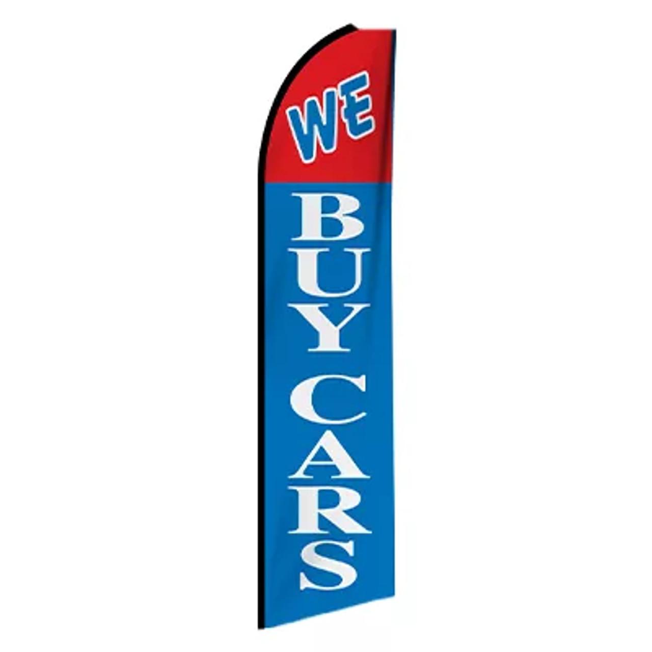 Swooper Flag - We Buy Cars