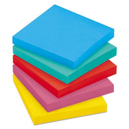 Original Pads in Jaipur Colors, 3 x 3, 100/Pad, 5 Pads/Pack