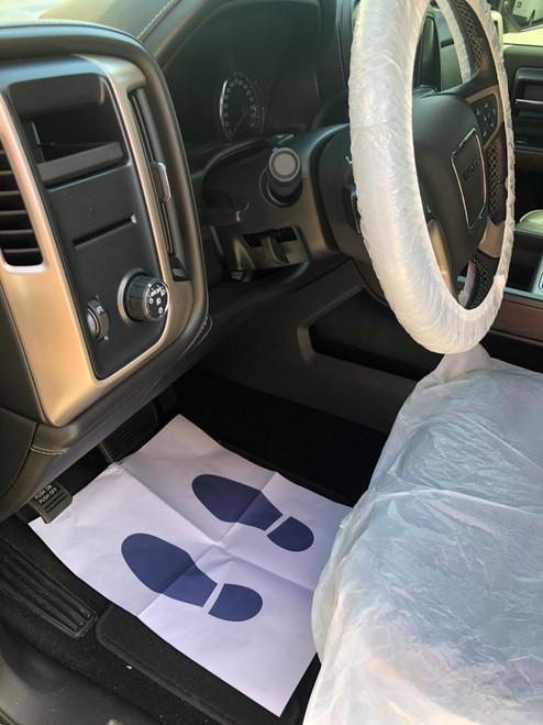 5 PC AutoShield Single Use Interior Protection