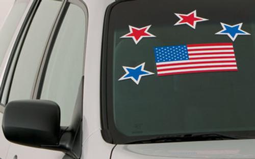 Large Stick-On U.S. Flag