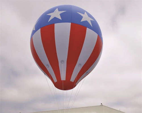 8' Hot Air Balloon Stars and Stripes