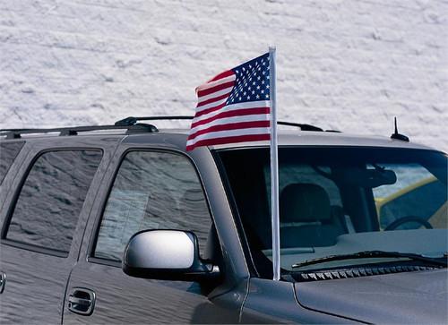 Cloth U.S. Antenna Flag