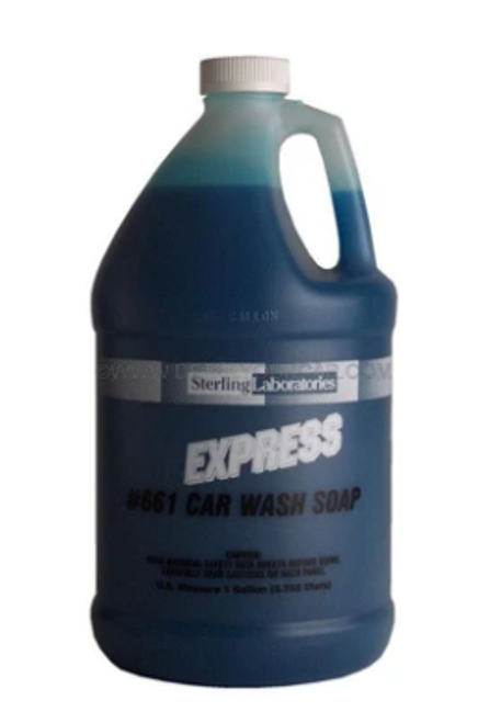 Express Car Wash Concentrate, Safe for Everyday