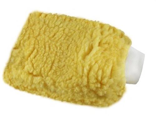 "Wash Mitt w/ Cuff - Gold 8"" x 11"""